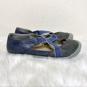 Keen Lower East Side Blue Maryjane Sandals